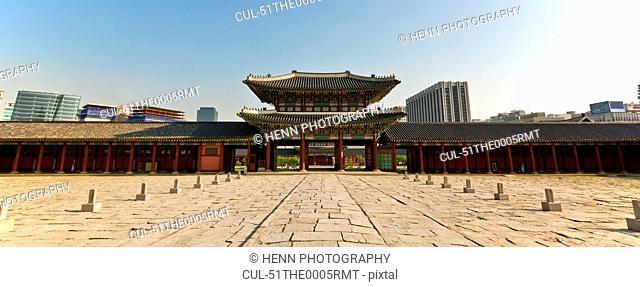 Gyeongbokgun Palace in Seoul
