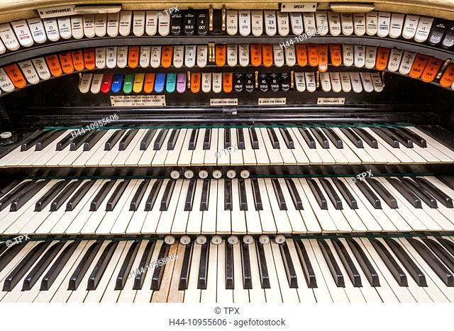 UK, United Kingdom, Europe, Great Britain, Britain, England, Devon, Dingles Fairground, Fairground, Compton Organ, Organ, Barrel Organ, Theatre Organ