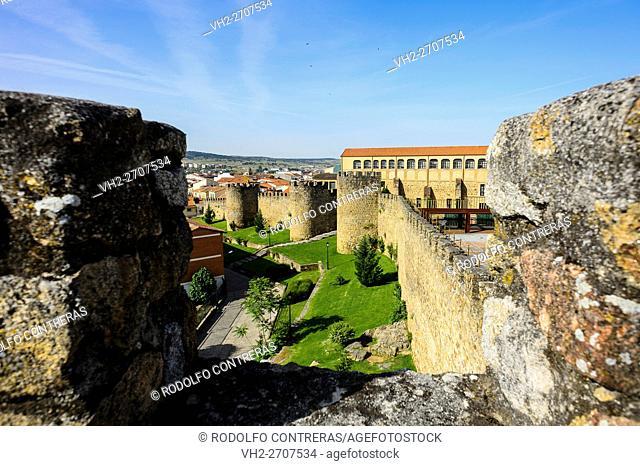 Medieval walls in Plasencia