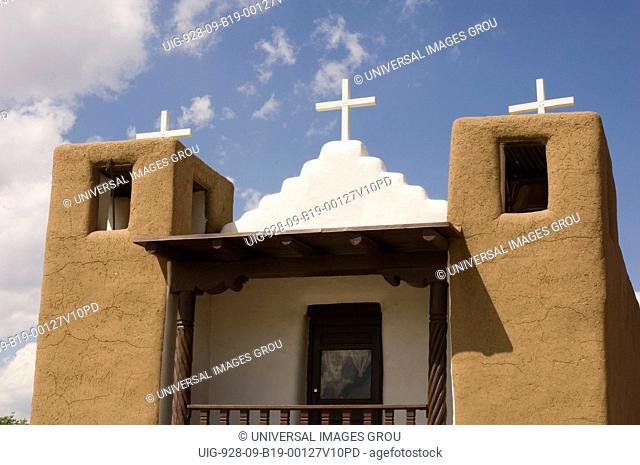 San Geronimo Church. Taos Pueblo, New Mexico. Built In 1850