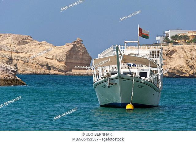 Arabia, Arabian peninsula, Sultanate of Oman, Muscat, Oman Diving centre club, diving tour