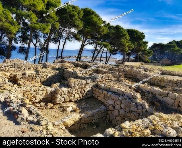 Ampurias archaeological zone, Girona, Spain, Europe