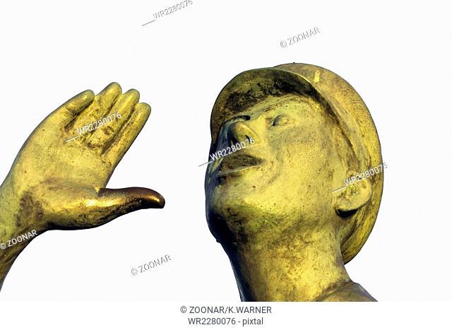 Rufer statue Lauenburg