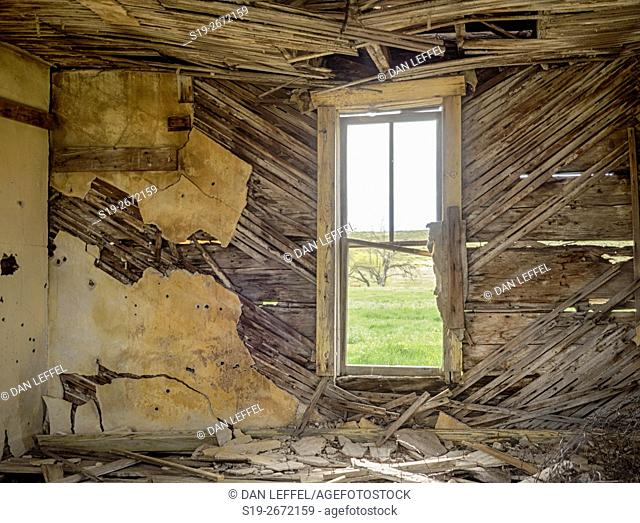 Abandoned Prairie House