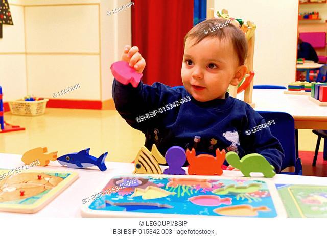 Reportage in a nursery in Fay de Bretagne, France