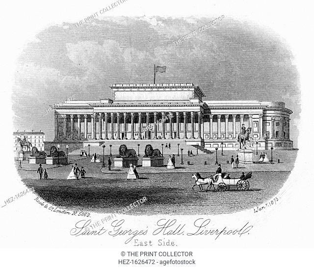 Saint George's Hall, Liverpool, 1 January 1875