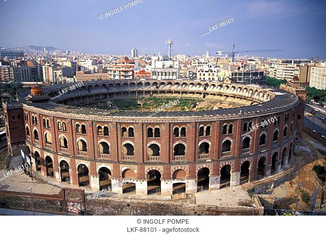 Las Arenas, Placa d'Espanya, Barcelona, Catalonia, Spain