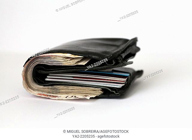 Cash in Wallet with Cards - UK