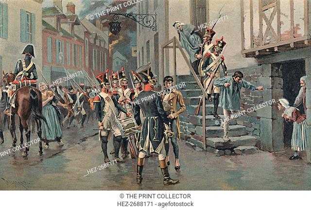 'Arresting Deserters', 1896. Artist: Unknown