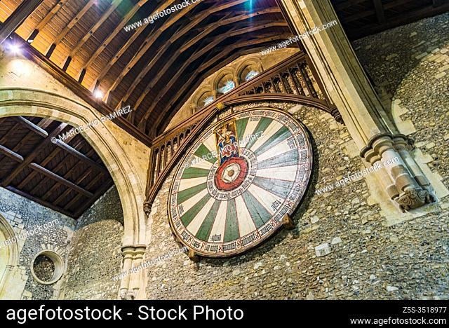 Winchester Round Table In The Great, Winchester Cathedral Round Table