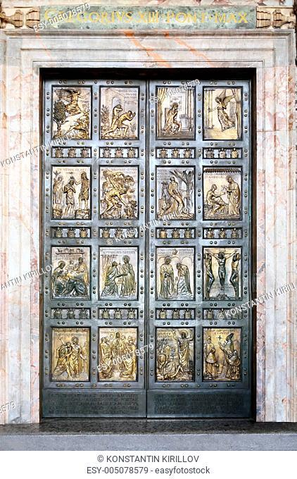 Holy Door In Vatican