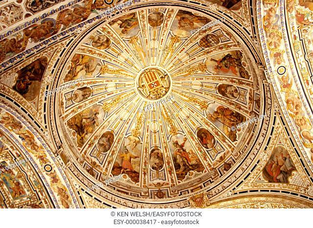 Dome. Museo de Bellas Artes. Seville. Andalusia, Spain