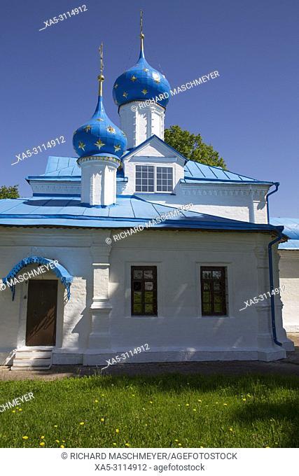 Entry Church of the Theotokos, Feodorosky Convent, Pereslavl-Zalessky, Golden Ring, Yaroslavl Oblast, Russia