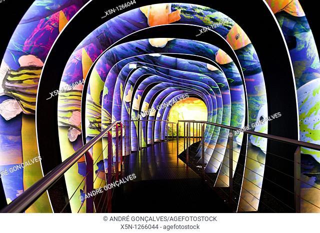Inside of Swarovski Museum, Innsbruck, Austria