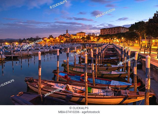 Clusane d'Iseo, Iseo lake, Brescia province, Lombardy district, Italy, Europe