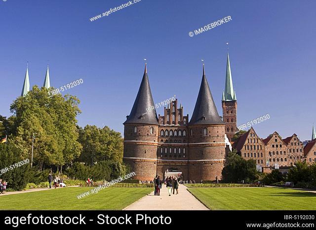 Holstentor, Lübeck, Schleswig-Holstein, Germany, Europe