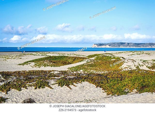 Coronado Central Beach in the morning. Coronado, California, United States