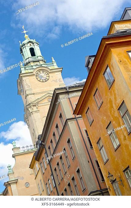 Church of Saint Nicholas, Storkyrkan, Gamla Stan, Stockholm, Sweden, Scandinavia, Europe