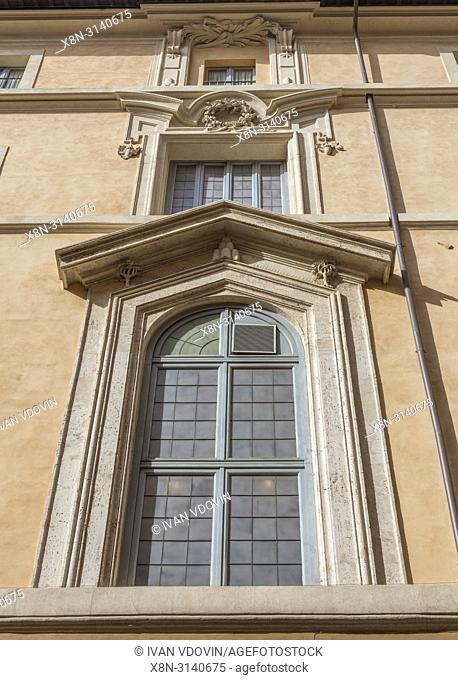 Palace of the Propagation of the Faith, Palazzo di Propaganda Fide (1667), Rome, Lazio, Italy