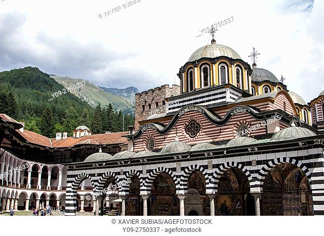 Church of Nativity of the Virgin Mother, Monastery of Saint John of Rila, Rila Mountains, Bulgaria