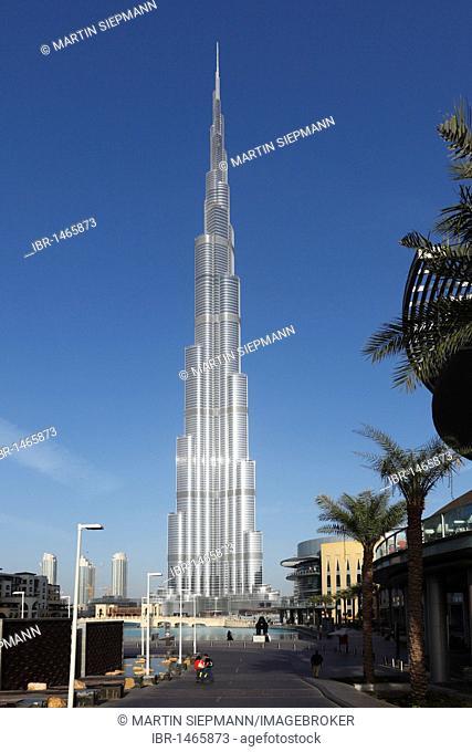 Burj Khalifa, Dubai, United Arab Emirates, Asia
