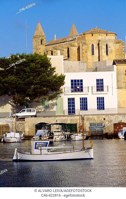 Porto Colom. Majorca, Balearic Islands. Spain