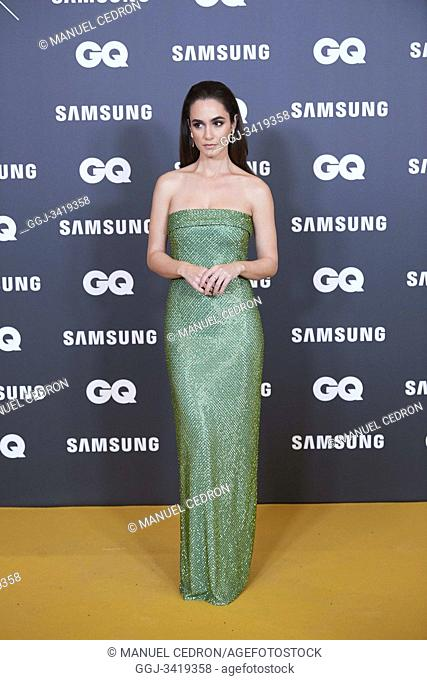 Alicia Sanz attends GQ Men of the Year Awards 2019 at Palace Hotel on November 21, 2019 in Madrid, Spain
