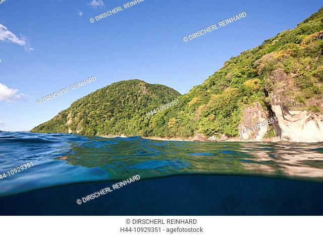 Coast of Dominica, Caribbean Sea, Dominica