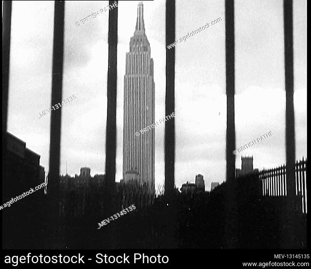 Skyline of Manhattan, New York City and The Empire State Building - New York City, United States of America