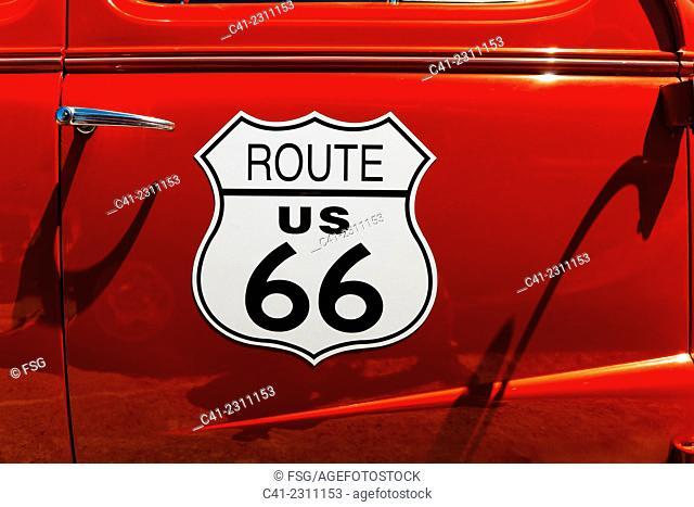 Oatman Road. Arizona, USA