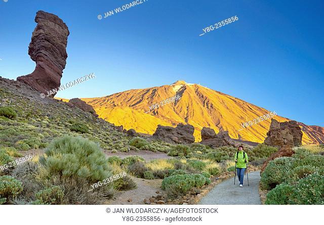 Mount Teide Volcano, Teide National Park, Tenerife, Canary Islands, Spain