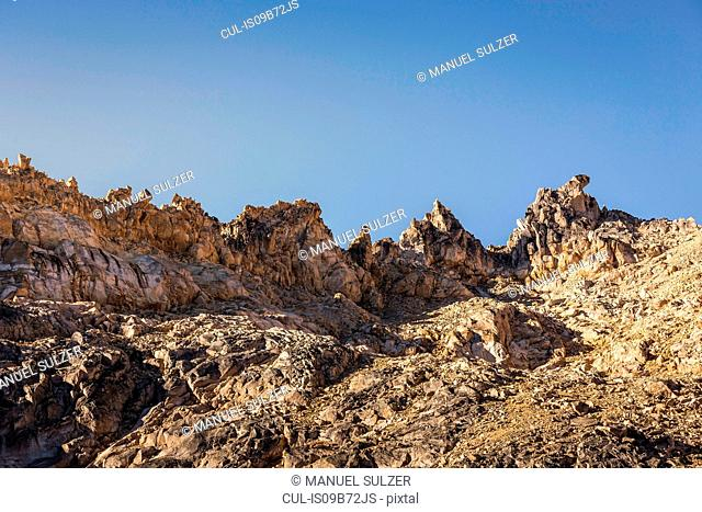 Rugged mountain landscape, Nahuel Huapi National Park, Rio Negro, Argentina