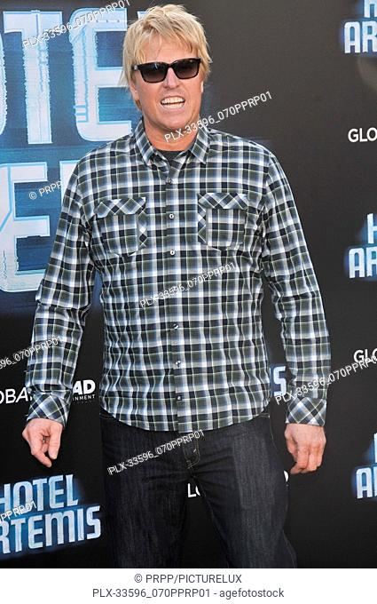 "Jake Busey at the """"Hotel Artemis"""" Los Angeles Premiere held at the Bruin Theater in Los Angeles, CA on Saturday, May 19, 2018"