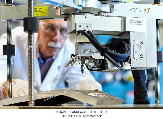 Measurement of residual stresses by X-rays, Foundry industry, Industry Unit, Technology Centre, Tecnalia Research & Innovation, Donostia, San Sebastian