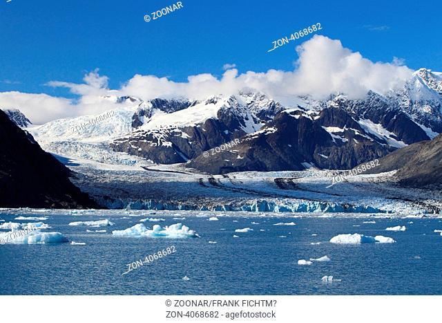 Columbia-Gletscher in Alaska
