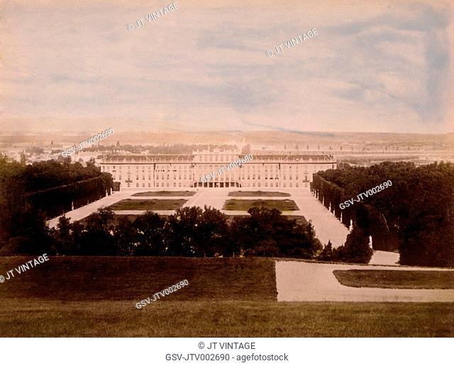 Schonbrunn Palace, Vienna, Austria, Circa 1880