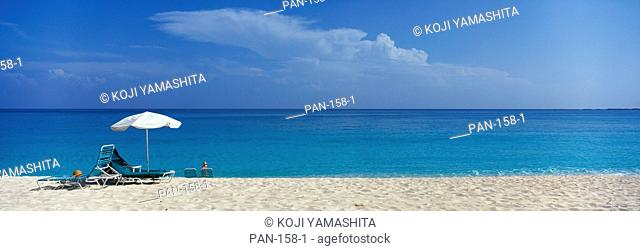 Beach Scene, Nassau, Bahamas, No Release