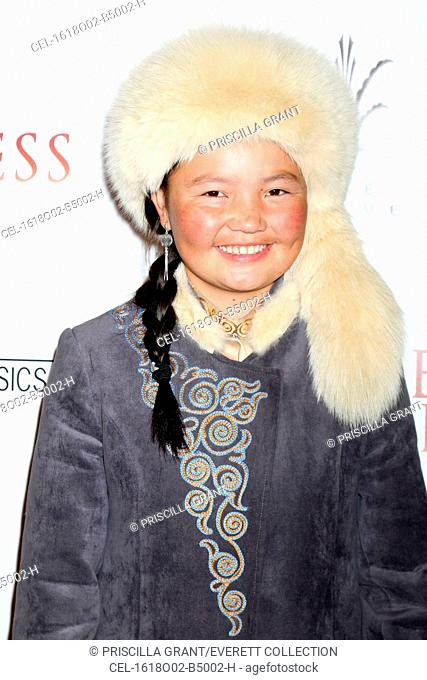 Aisholpan Nurgaiv at arrivals for THE EAGLE HUNTRESS Premiere, Pacific Theatres at the Grove, Los Angeles, CA October 18, 2016