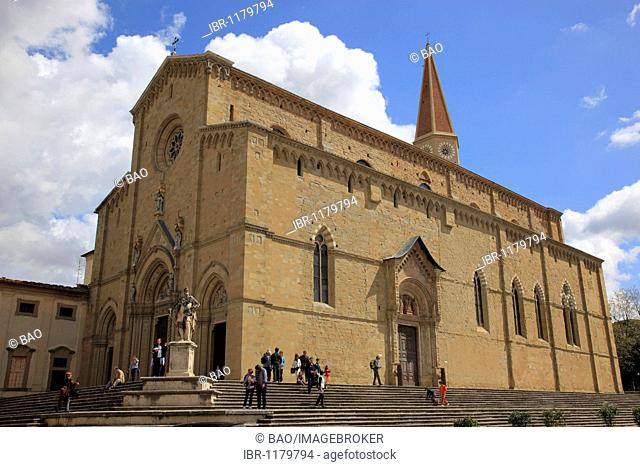 Cathedral of Arezzo, Tuscany, Italy, Europe