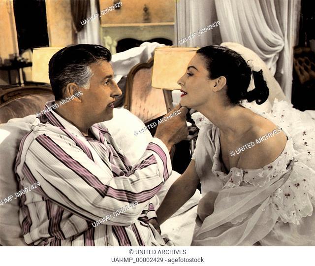 Die kleine Hütte, (THE LITTLE HUT) GB 1957, Regie: Mark Robson, STEWART GRANGER + AVA GARDNER