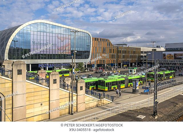 Main Train Station Poznan, Poland, Europe