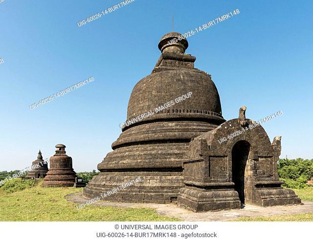 Myatazaung Pagoda, Mrauk U, Burma, Myanmar