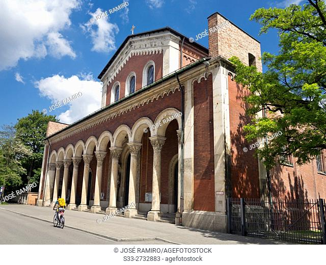 Abbey of St. Bonifacio in Munich. Germany. Europe