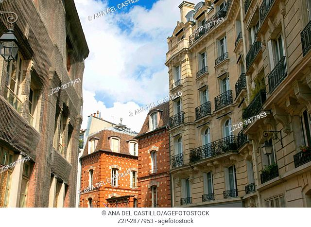 Cityscape in Paris on March 29, 2016 in France