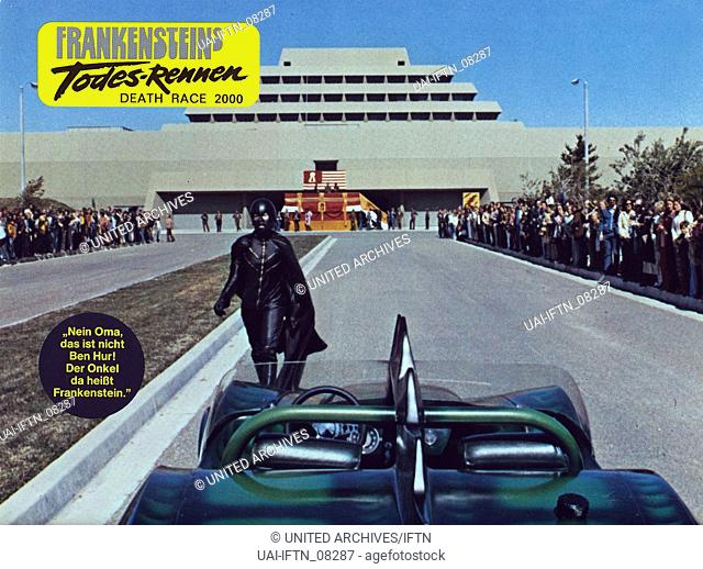 Death Race 2000, aka: Frankensteins Todesrennen, aka: Herrscher der Straße, USA 1975, Regie: Paul Bartel, Darsteller: David Carradine
