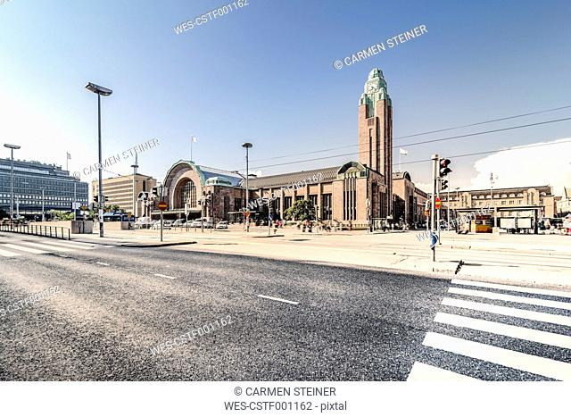 Finland, Helsinki, Main station