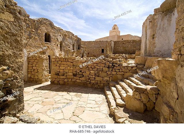 Berber mountain village, Douiret, Tunisia, North Africa, Africa