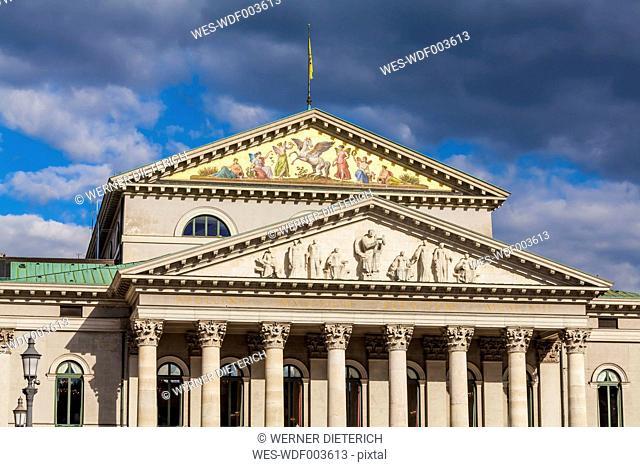 Germany, Munich, National Theatre