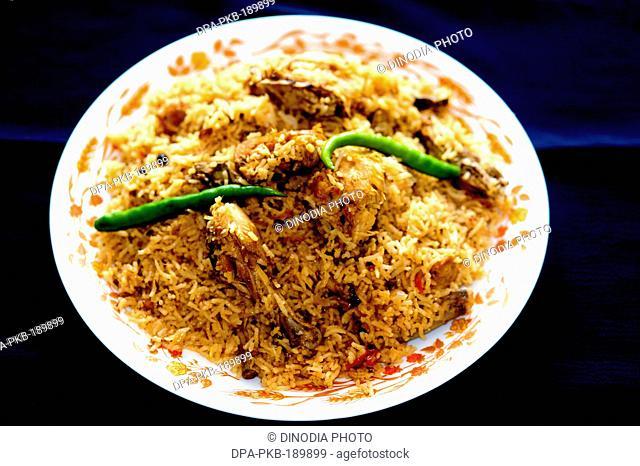 chicken biryani India Asia