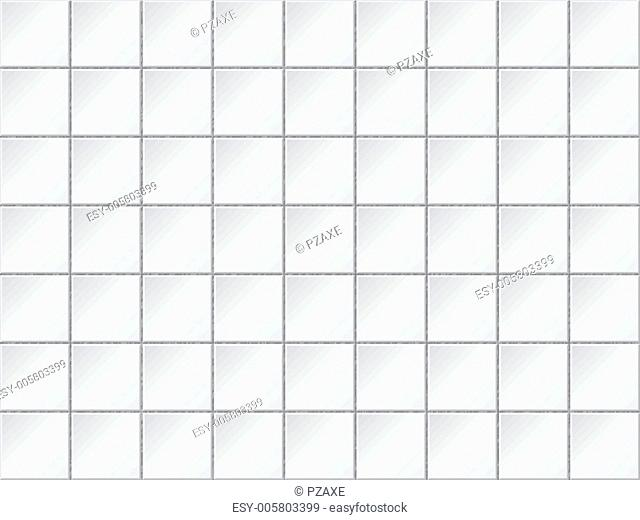 Vector background - wall are covered with tiles
